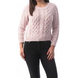 Pulover dama chicpink roz prafuit