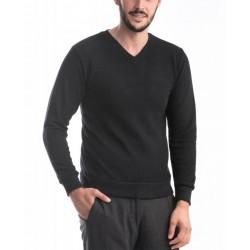 Pulover barbati culoare negru pl1013