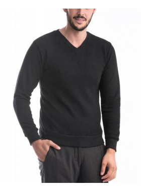 Pulover barbati, culoare negru PL1013