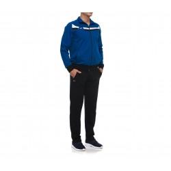 Trening barbati piece of colour albastru royal si negru