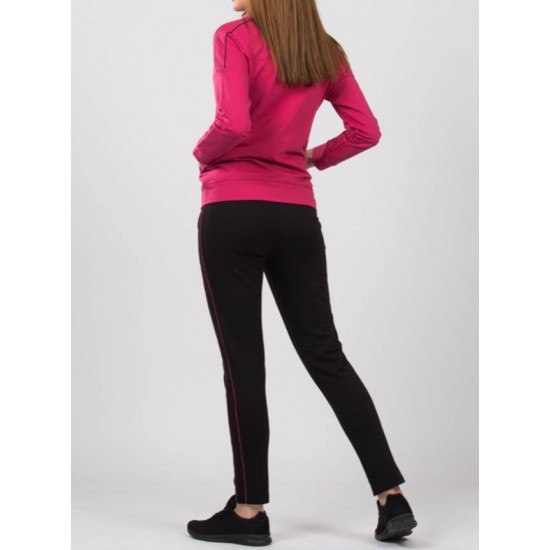 Trening dama slimfit athletic performance rose si negru