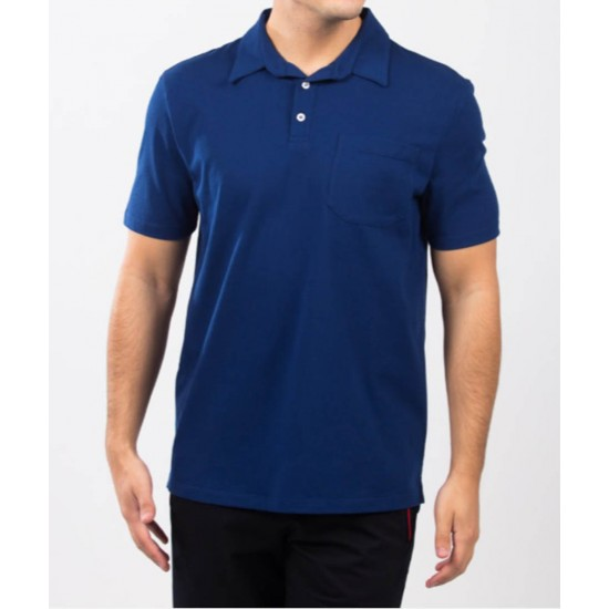 Tricou barbati polo for him albastru royal