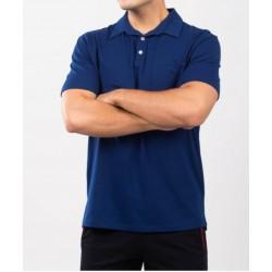 Tricou barbati polo for him albastru royal