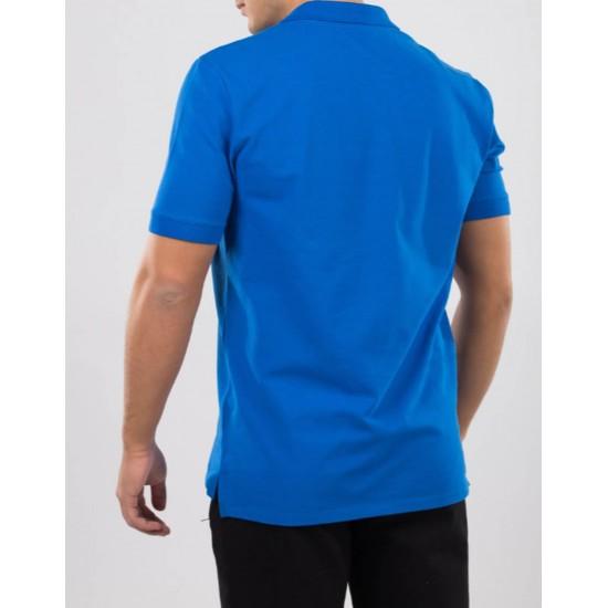 Tricou barbati polo for him mavi albastru