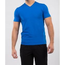 Tricou barbati slim fit for him culoare albastru royal