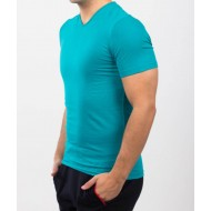 Tricou barbati slim fit for him culoare Smarald