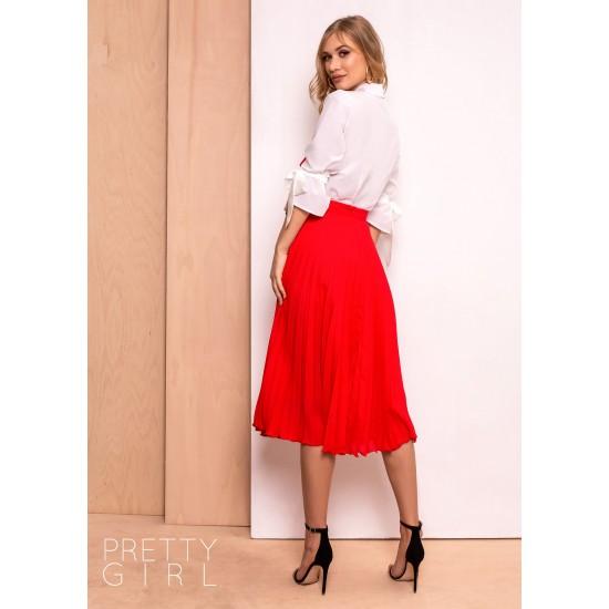 Fusta Pretty Girl rosie plisata Midi