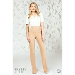 Bluză damă albă cu decolteu anchior