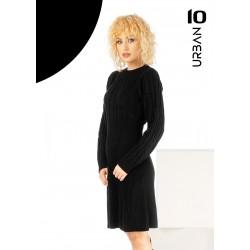 Rochie dama din tricot in clos culoare neagra