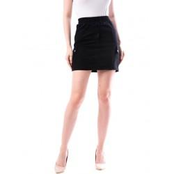 Fusta dama denim style culoare neagra