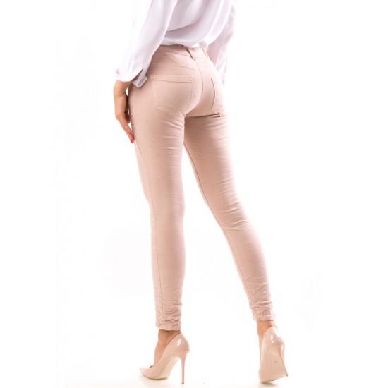 Blugi skinny dama emiliapink, culoare roz