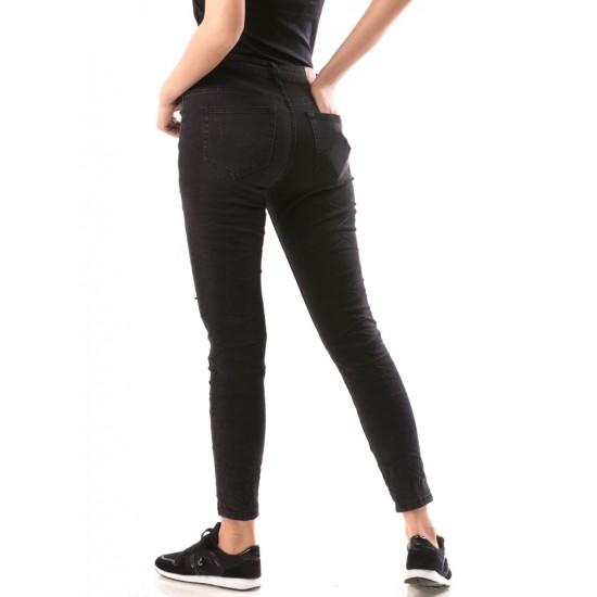 Blugi dama skinny eightporto culoare negru