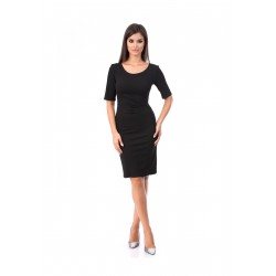 Rochie dama office Lorena culoare neagra