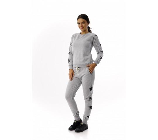 Trening femei ADR 6366, culoare gri deschis