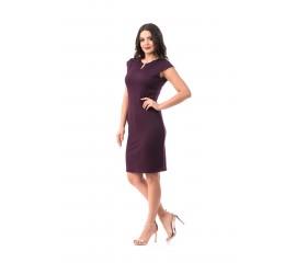 Rochie OfeliaOffice, culoare ultra violet