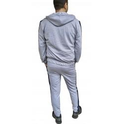 Trening barbati cm colection gri-albastru