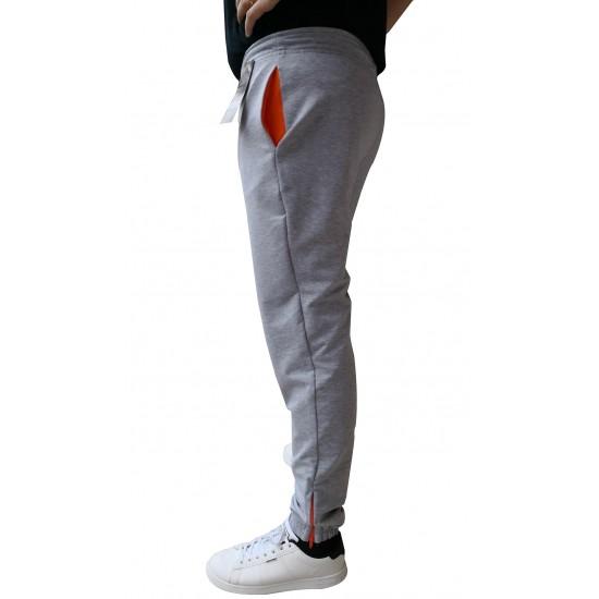Pantalon barbati trening  cm colection, culoare gri
