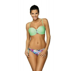 Costum baie dama betty green culoare verde menta
