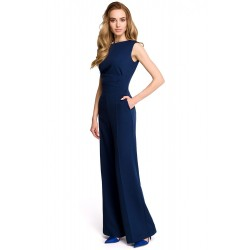 Salopeta eleganta dama ruxy style culoare bleumarin