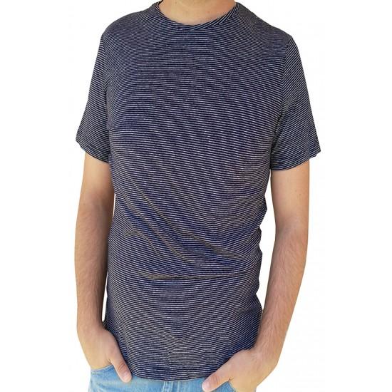Tricou barbati basement culoare albastra