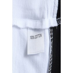 Tricou barbati casual yoozze alb-negru