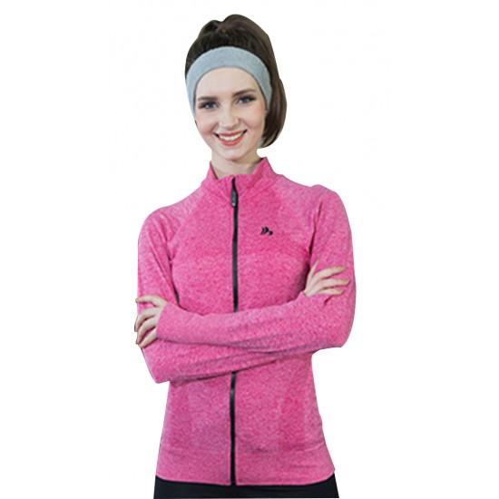 Jacheta dama sport fitness culoare roz
