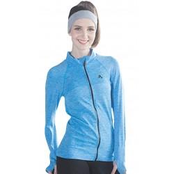 Jacheta sport femei culoare albastru
