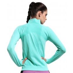 Jacheta sport femei culoare verde