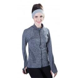 Jacheta sport femei culoare gri