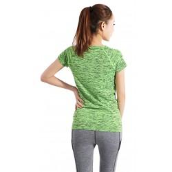 Tricou dama gym-sport ted culoare verde