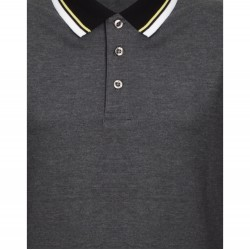 Tricou barbati gray polo culoare gri