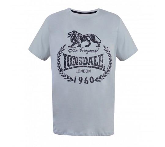 Tricou Barbati Gray Printed, culoare gri
