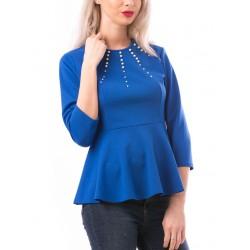 Bluza dama royalpearl albastru