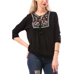 Bluza calientespring negru-rosu-alb