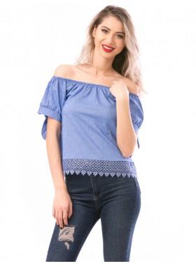 Bluza Dama DressyGirl Albastru