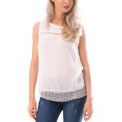 Bluza dama beautynest alb