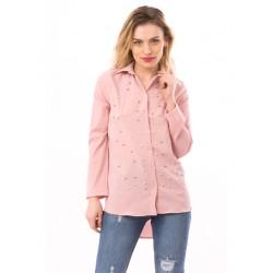 Camasa dama pastelpearl culoare roz