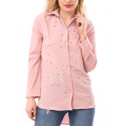 Camasa dama pastelpearl roz